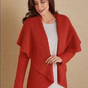 NWT soft surroundings knit cardigan